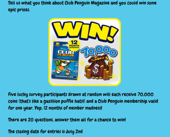 Get a free Club Penguin Membership with our online generator, there are no downloads needed to use the all new hack tool.