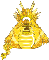 club penguin ancient gold dragon