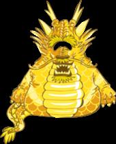 club penguin ancient gold dragon