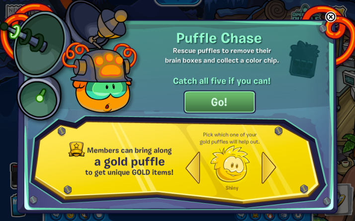 club penguin operation puffle cheats day 7 puffle chase
