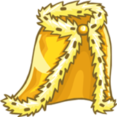 club penguin royal golden robe
