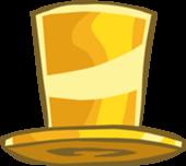 club penguin gold top hat