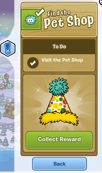 club penguin collect reward