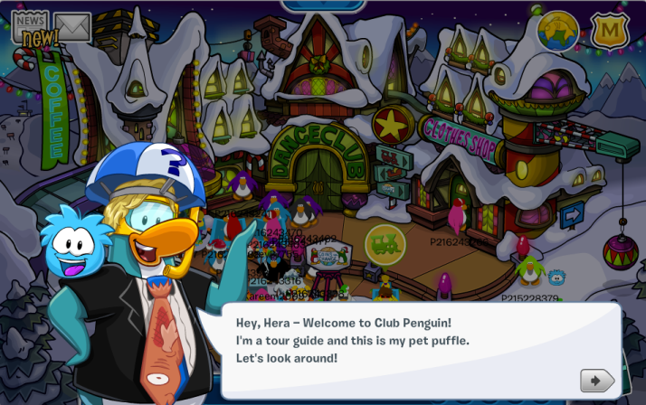 club penguin introduction