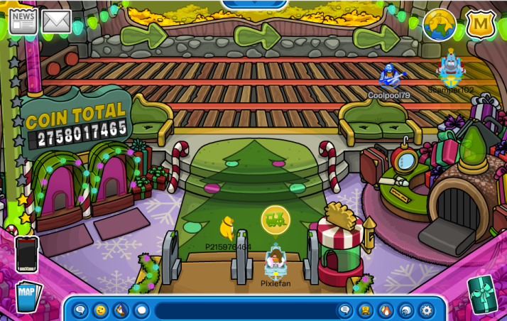 club penguin train station