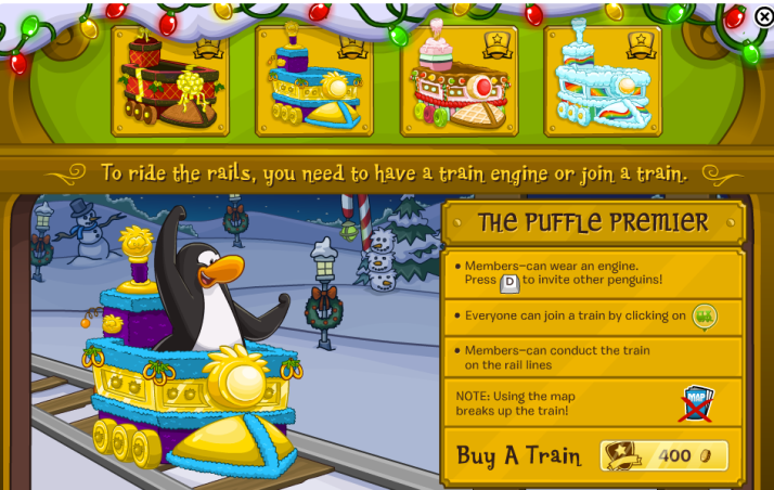 club penguin trains