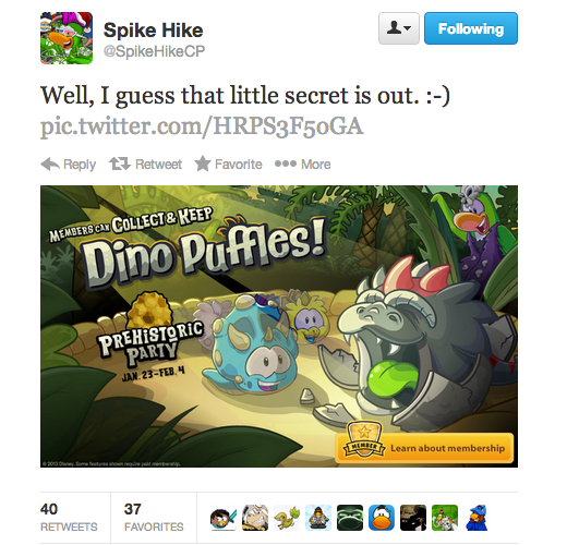 club penguin dino puffles confirmed