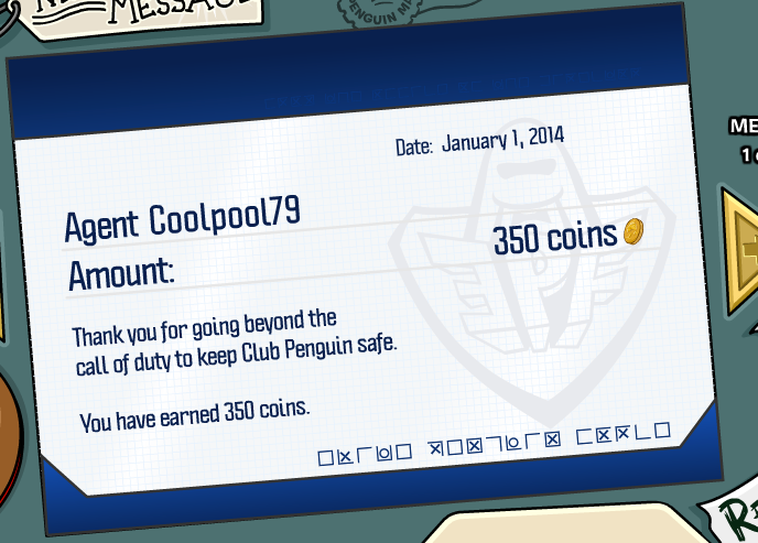 club penguin pay day january 2014 2