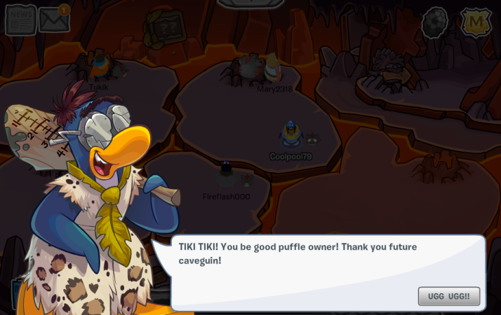 club penguin good puffle owner