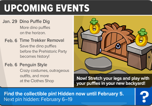 upcoming events 431