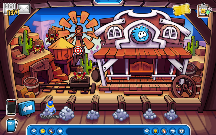 club penguin bulls eye