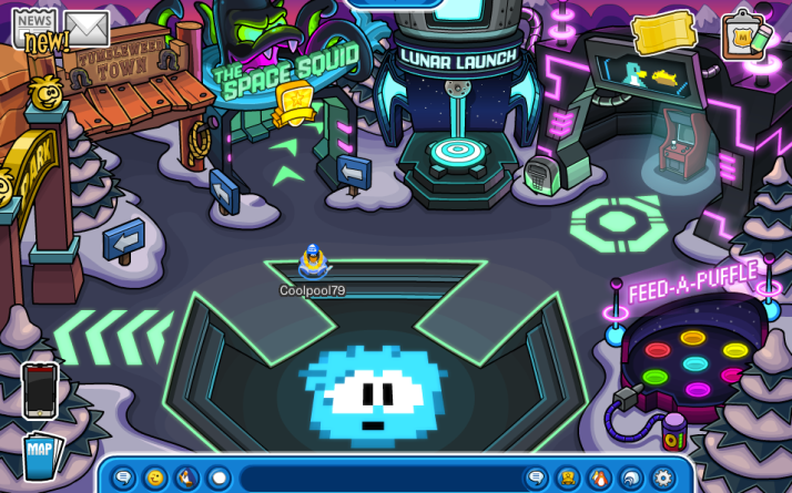 club penguin galaxy park
