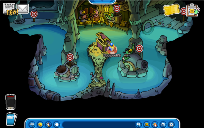 club penguin marooned lagoon