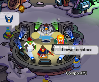club penguin penguin band