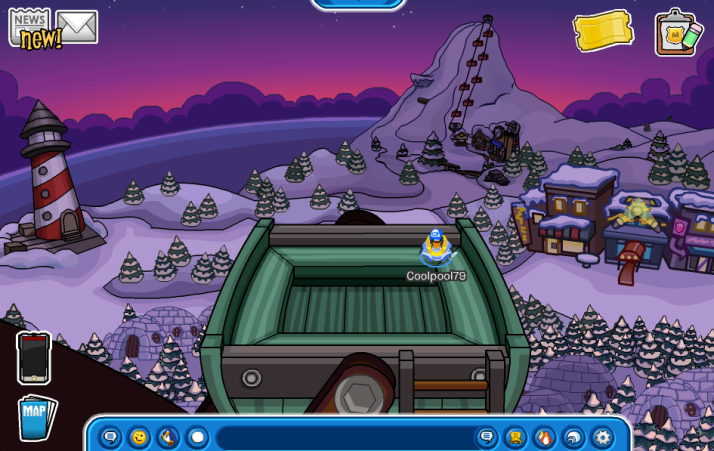 club penguin wagon wheel
